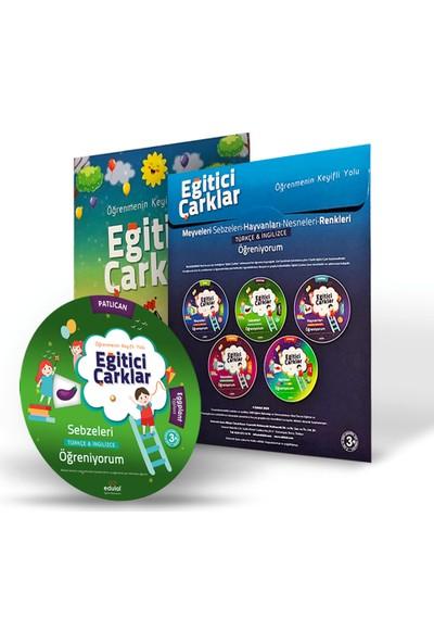 Çocuklar Için Aktiviteli Eğitici Çarklar Eğitim Seti - 5'li Set