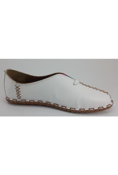 Messi̇mod 2901 Günlük Kadın Ayakkabı Beyaz