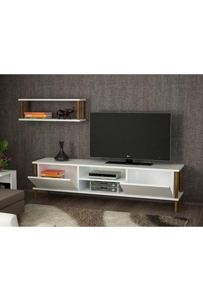 Ayaz Home Mono Tv Ünitesi Beyaz