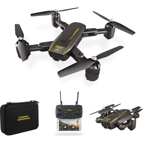 Corby CX015 Wifi Kameralı Katlanabilir 1080P Smart Drone