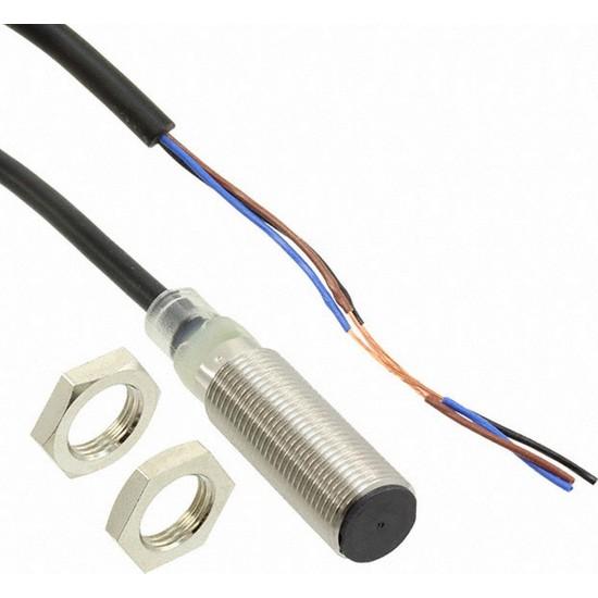Omron E2BM12KS04WPB15MOMI M12 4 mm Pnp-No Endüktif Sensör