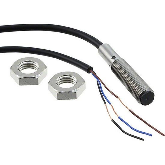 Omron E2BS08KS02WPB22MOMI M8 2 mm pnp-Nc Endüktif Sensör