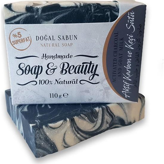 Soap & Beauty Aktif Karbonlu Ve Keçi Sütlü Sabun