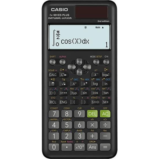 Casio FX-991ES Plus 2. Nesil Bilimsel Hesap Makinesi