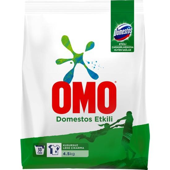 Omo Domestos Etkili Toz Çamaşır Deterjanı 4.5 KG 30 Yıkama