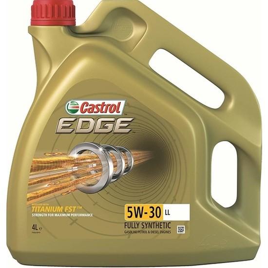 Castrol Edge 5W-30 LL 4 Litre Motor Yağı ( Üretim Yılı: 2020 )