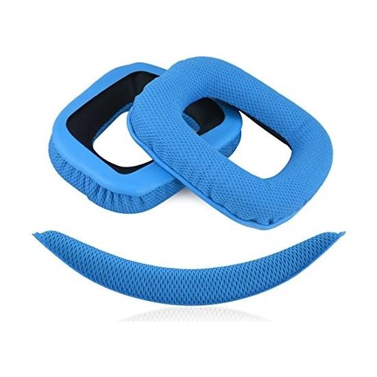 Logitech G Serisi Kulaklık Süngeri Mavi