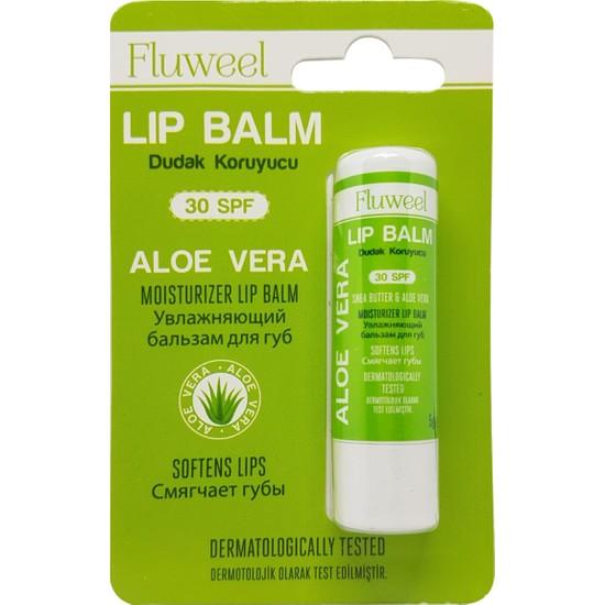 Fluweel Aloeveralı Dudak Koruyucu Lip Balm(Spf 30)