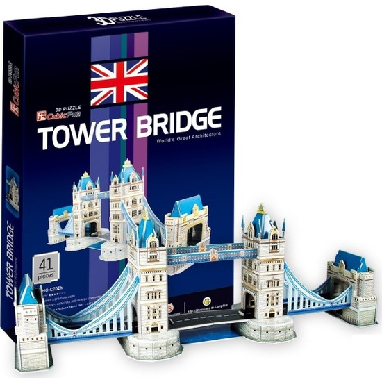 Cubic Fun Londra Tower Bridge Maketi