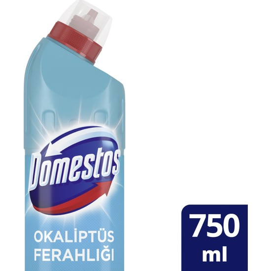 Domestos Okaliptüs Ferahlığı Yoğun Kıvamlı Çamaşır Suyu 750 ML