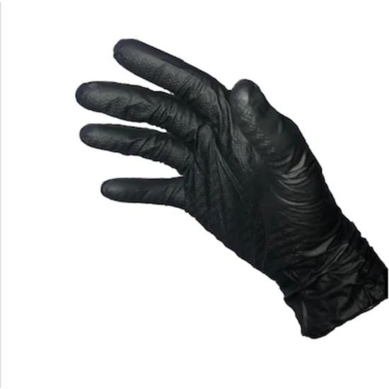 Ntı Glove Çok Amaçlı Nitril Eldiven Siyah XL 50'li