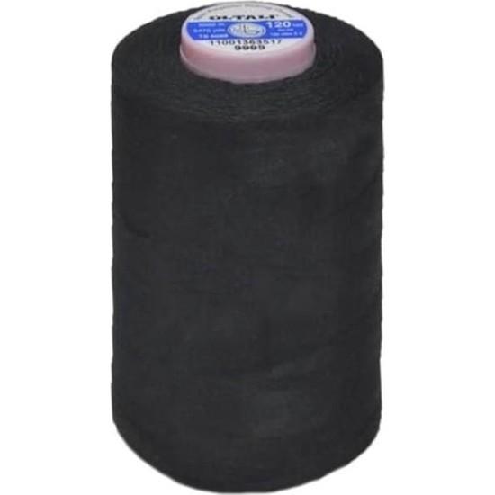 Oltalı 120 Numara Polyester Dikiş İpliği Siyah