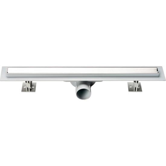 Say Çelik Carmine 50 cm Duş Kanalı Düz Desen Parlak Yandan 50 mm