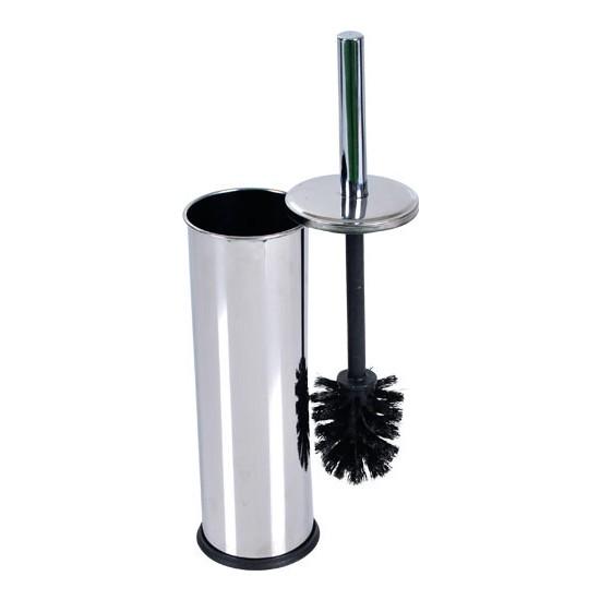 Tema Düz Kapak Krom Wc Tuvalet Fırçası Metal Klozet Fırçası Paslanmaz
