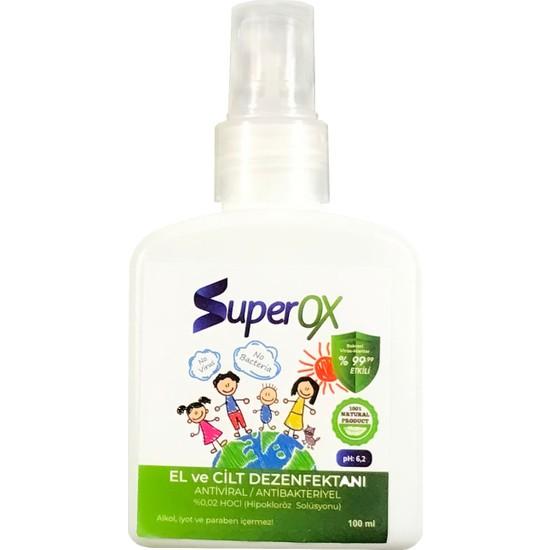Superox Hipokloröz El ve Cilt Dezenfektanı 100 ml
