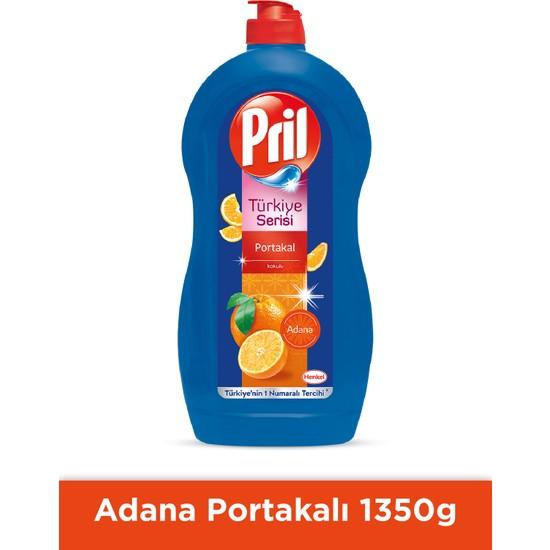 Pril Sıvı Elde Bulaşık Yıkama Deterjanı Adana Portakalı 1350 gr