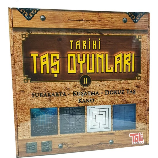 Toli Games Tarihi Taş Oyunları 2