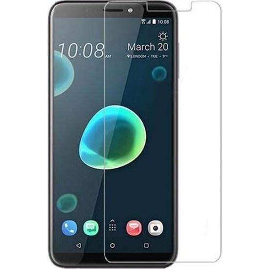HerBütçeye Maxi HTC Desire 12 Plus Şeffaf Temperli Cam