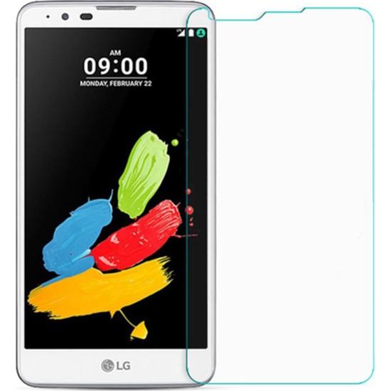 HerBütçeye Maxi LG Stylus 2 Şeffaf Temperli Cam