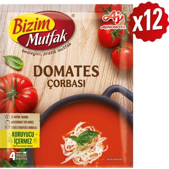 Bizim Mutfak Domates Çorbası 65 gr 12'li Paket