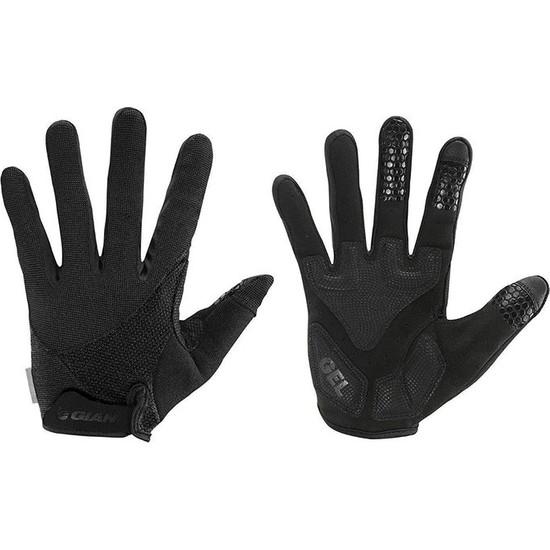 Giant Streak Uzun Parmak Eldiven Siyah