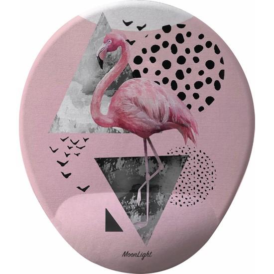 Gameboss Pink Flamingo Bilek Destekli Tasarım Mouse Pad