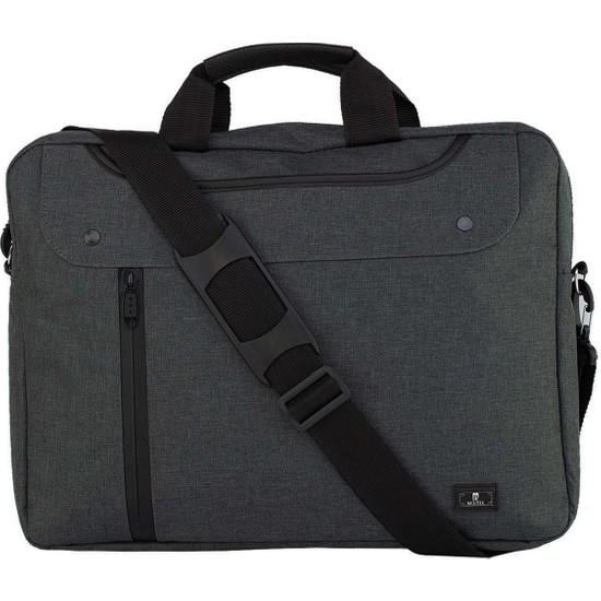 "Beutel 15.6"" Evrak Notebook Laptop Çantası - NLF200 Füme"