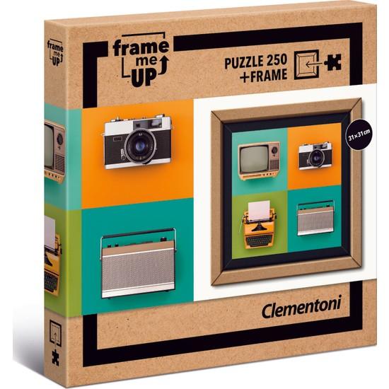 Clementoni - 250 Parça Frame Me Up Yetişkin Puzzle - Vintage Electronics