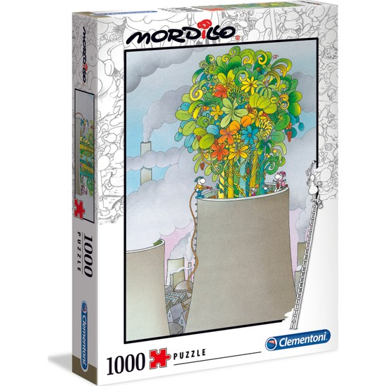Clementoni - 1000 Parça Mordillo Yetişkin Puzzle - The Cure