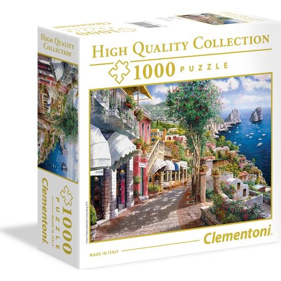 Clementoni - 1000 Parça High Quality Yetişkin Puzzle - Capri