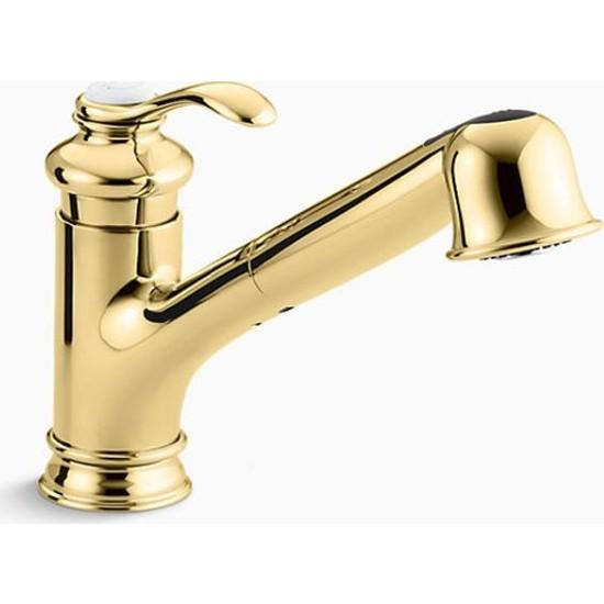 Kohler Eviye Bataryası Fairfax Spiralli Brass