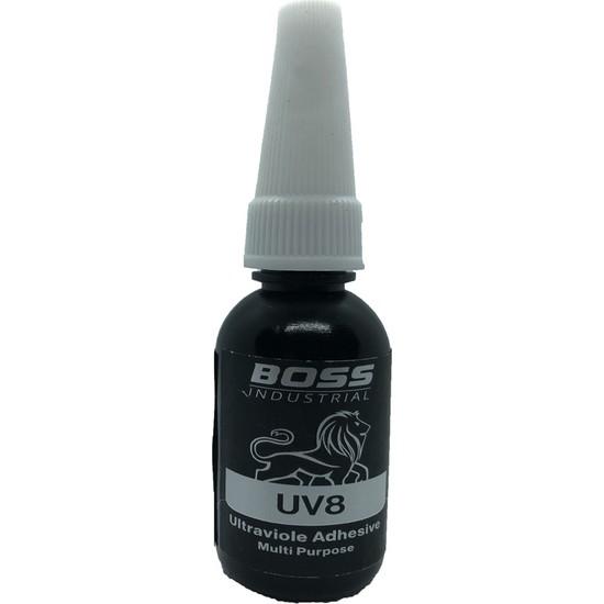 Boss Uv8 Cam Yapıştırıcı Şeffaf 10 gr