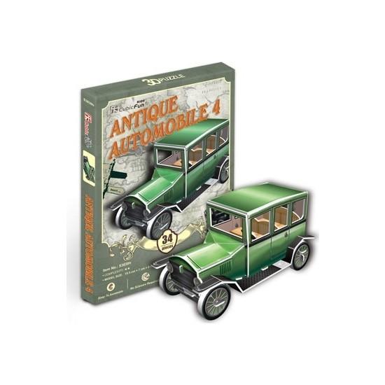 Cubic Fun Antika Otomobil 4