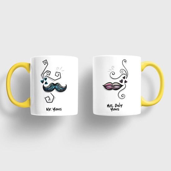 Sevgili Kupaları Mr. Yours & Mrs. Only Yours Kupa Takımı