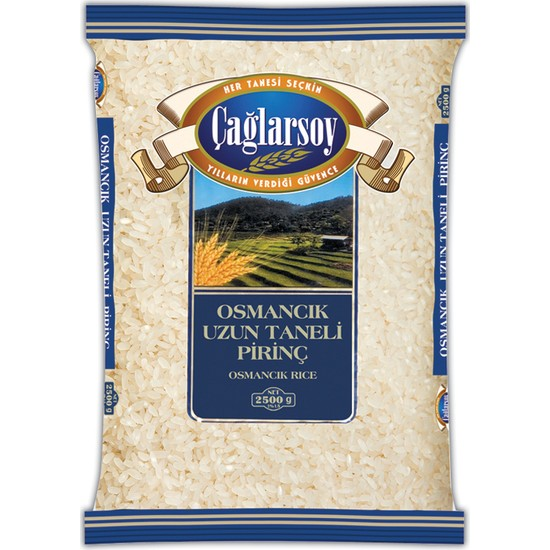 Çağlarsoy Osmancık Pirinç 2,5 kg