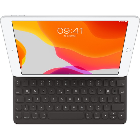 Apple iPad 7 - iPad Air 3.Nesil Smart Keyboard Türkçe Q Klavye MX3L2TQ/A