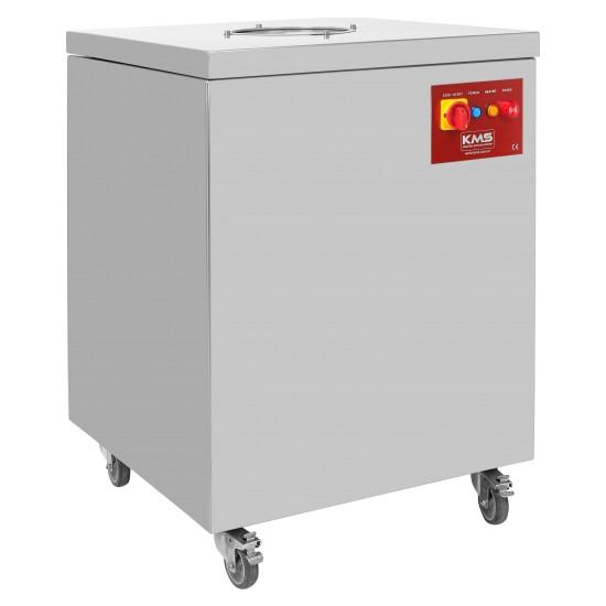 KMS-7000S Sezsiz Çatal, Kaşık, Bıçak Kurutma Parlatma Hijyen Makinası 7000 Adet/saat