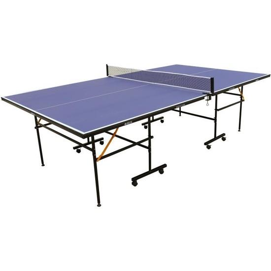 Delta Aventura Mavi Masa Tenisi Masası Ağ - Demir + 2 Raket + 3 Top