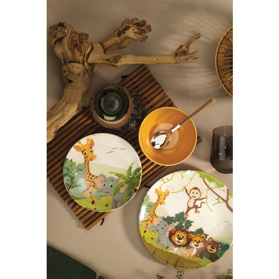 Kütahya Porselen 3 Parça Çocuk Yemek Seti 880288