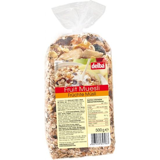Delba Meyveli Müsli 500 gr