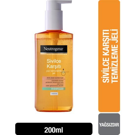 Neutrogena Visibly Clear Sivilce Karşıtı Günlük Temizleme Jeli 200 ml