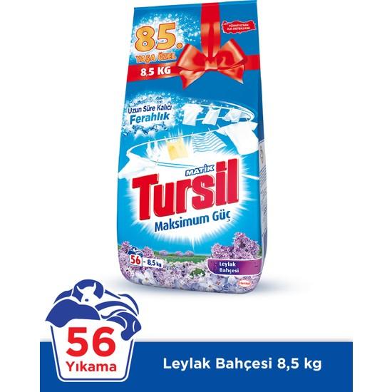 Tursil Matik 8.5 kg Toz Çamaşır Deterjanı Leylak Bahçesi