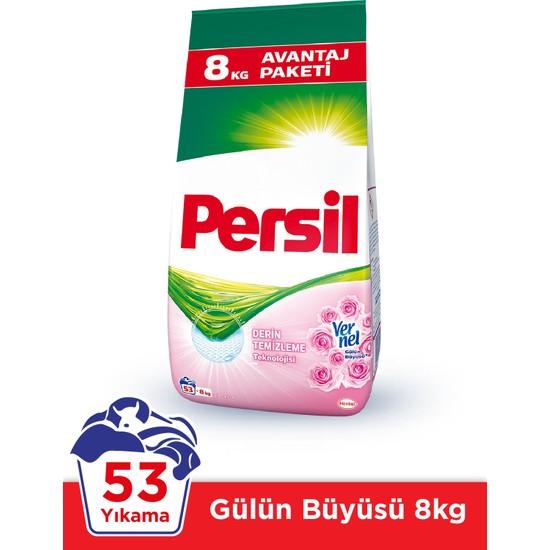 Persil Expert 8 kg Toz Çamaşır Deterjanı Taze Gül