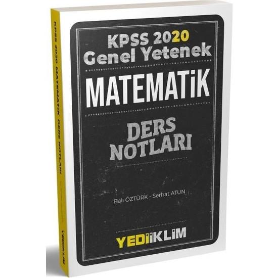 Yediiklim Kpss Genel Yetenek Matematik Ders Notları