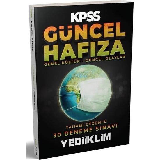 Yediiklim Yayınları KPSS Genel Yetenek-Genel Kültür Güncel Hafıza 30 Deneme Sınavı