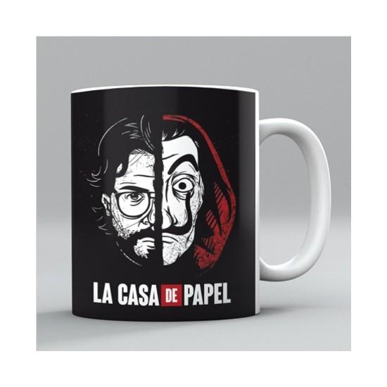 Bir Hediyen Olsun La Casa De Papel Profesör ve Salvador Dali Kupa