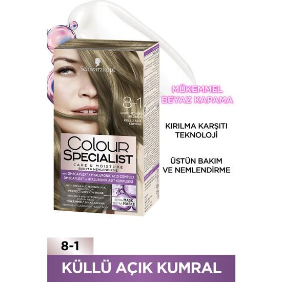Colour Specialist Küllü Açık Kumral 8.1