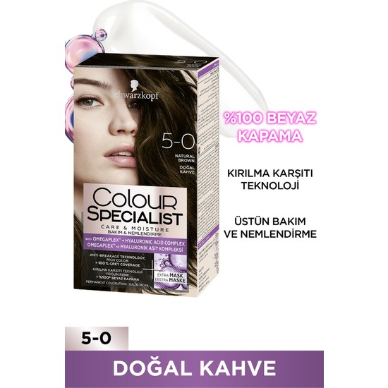 Colour Specialist Doğal Kahve 5.0