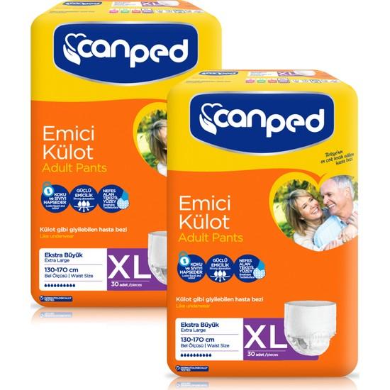 Canped Emici Külot XL - Extra Büyük 60 Adet