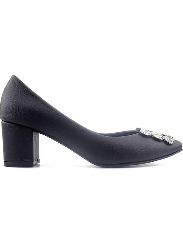 Miss Park Moda K615 Kadın Ayakkabı Siyah Diva